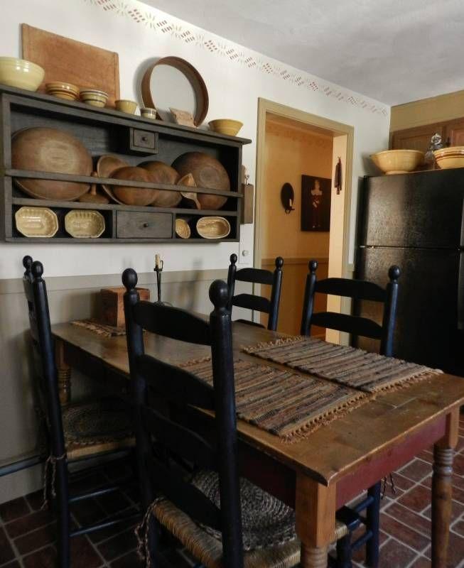 Primitive Kitchen best 25+ primitive tables ideas on pinterest | antique kitchen