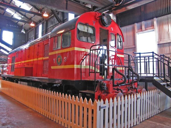 Queen Victoria Museum & Art Gallery, #Launceston. #Railway #Trains #Tasmania www.think-tasmania.com