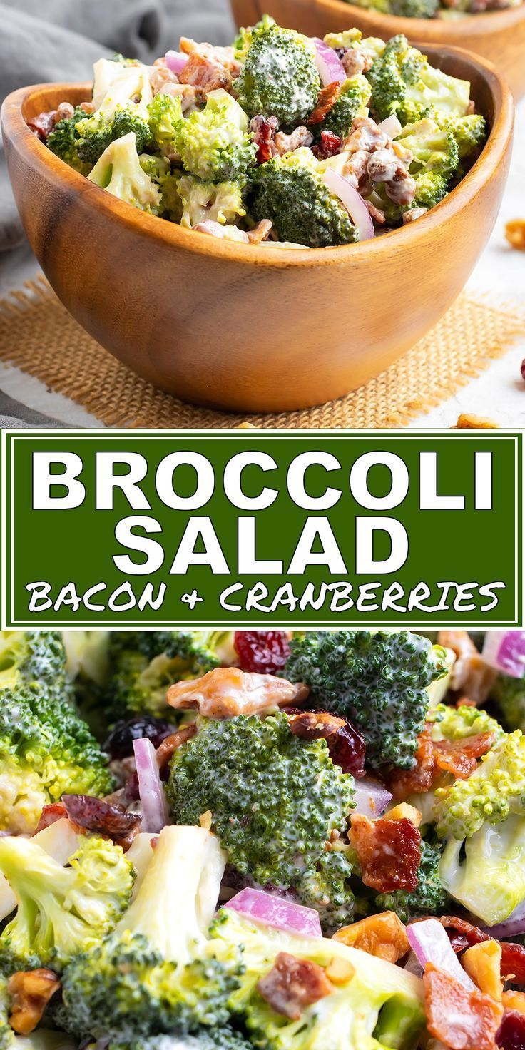 Brokkolisalat Brokkolisalat Einfacher Einfacher Broccoli Evolving Evolving Broccoli Recipes Recipes Bacon Table Spe Mayonnaise Cranberries Rezepte