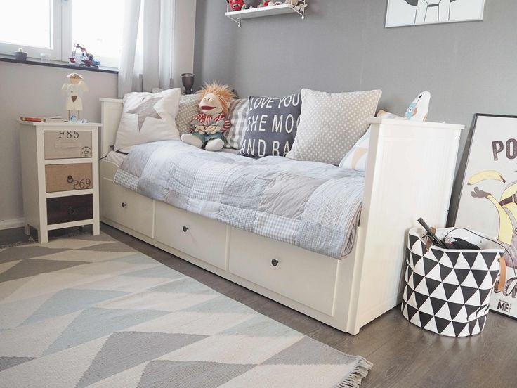 Kinderzimmer ikea hemnes  Die besten 25+ Ikea hemnes bett Ideen nur auf Pinterest | Ikea ...