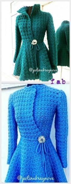 DIY Crochet Princess Cardigan Free Pattern Tutorial – Video
