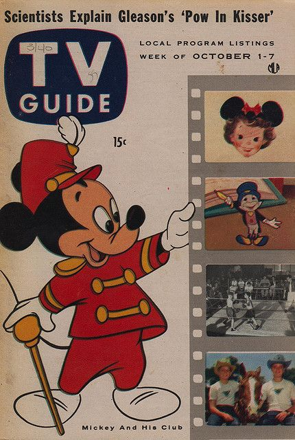 Walt Disney TV shows in the 1950 | tv guide october 1 7 1955 articles a jaundiced look at tv by henry ...