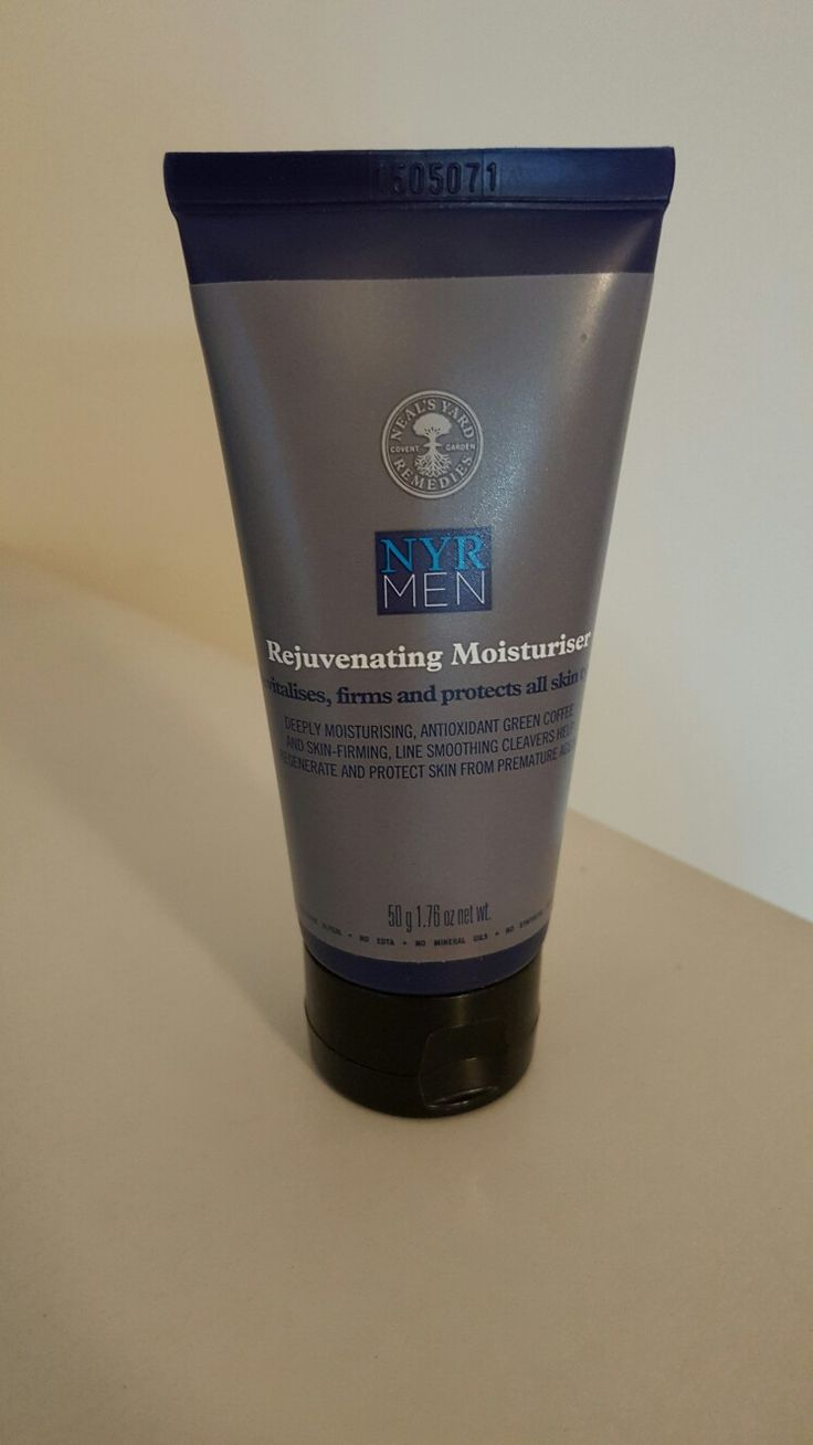 Neal's Yard Remedies Men Collection.  Best Selling men's moisturizer to firm all skin types from premature aging.  Antioxidant-rich green coffee. Skin firming, line smoothing rejuvenating and revitalizing your skin to keep you well groomed.