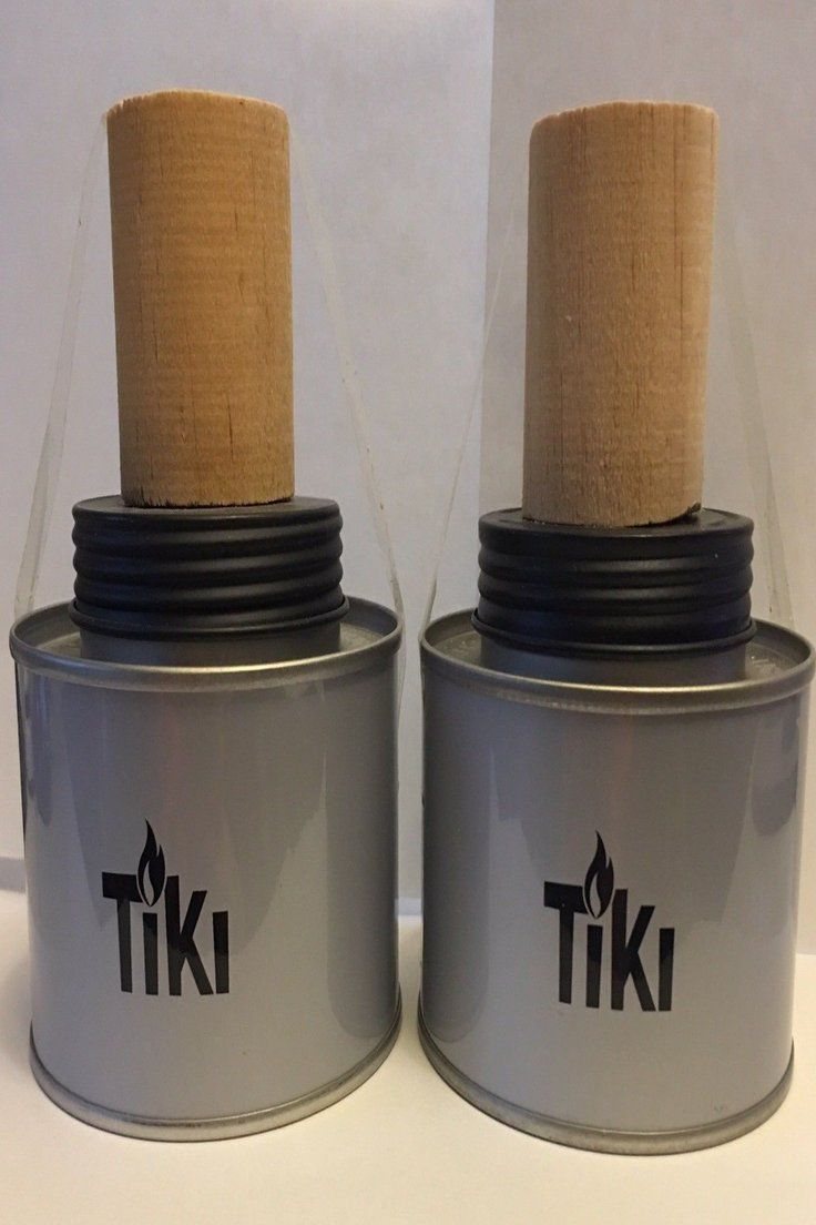 5 99 Tabletop Tiki Torches Qty Of 2 3 1 4 X 2 Metal