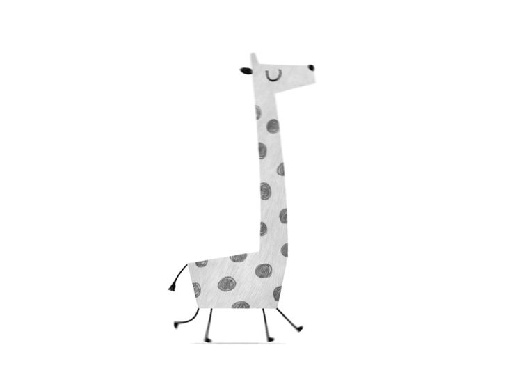 Giraffe Animation by Sebastian Eberlein