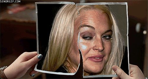 The Lindsay Lohan gif that Will Haunt Your Dreams