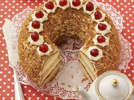 """Франкфуртський Кранц (класичний рецепт) Читайте також Торт """"Валенсія"""". Cучасні десерти Торт """"Наполеон"""" ТОРТ FERRERO ROCHER (Ферреро Роше) Хорватський """"ТОРТ над всіма тортами"""" Торт """"Опера в білому"""" Торт «Шоколадний дует». … Read More"""
