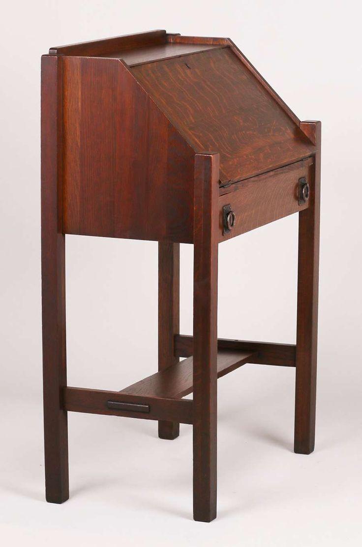 California Historical DesignLifetime Furniture Co Small Drop Front Desk |  California Historical Design