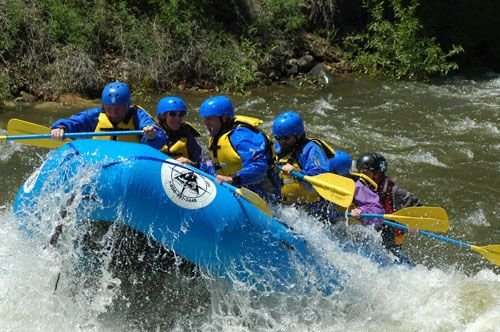Rafting Colorado - Clear Creek Beginner