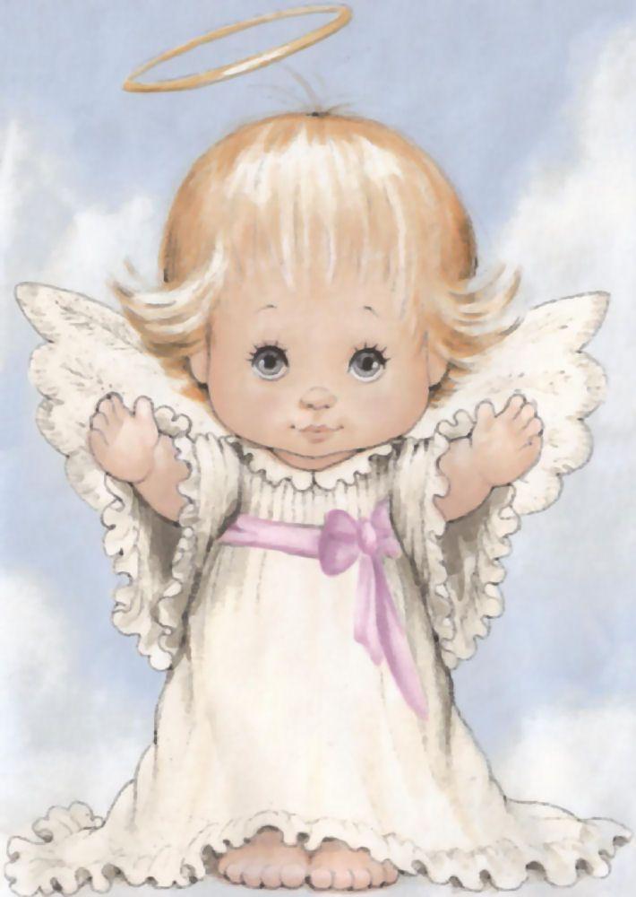 Правильно, открытка ангелочком