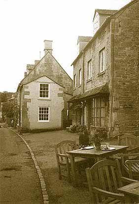 Main Steet,  Blockley.  [on Allan Taylor's site of Blockley History]