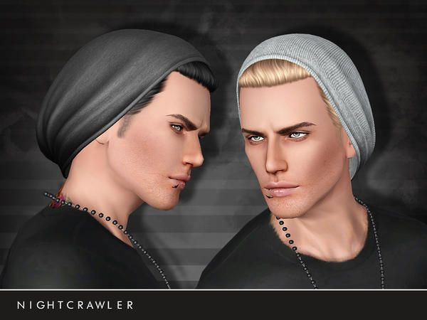 BEANIE hair with cap for males by Nightcrawler - Sims 3 Downloads CC Caboodle