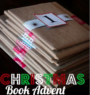 Christmas book advent..We are SO doing this! My kids are going to flip!