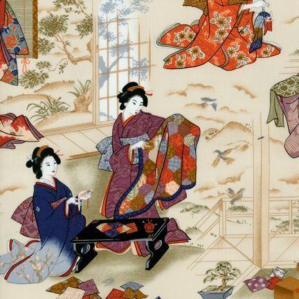 Robert Kaufman - Oriental Traditions 3 ES-5232-2 ANTIQUE