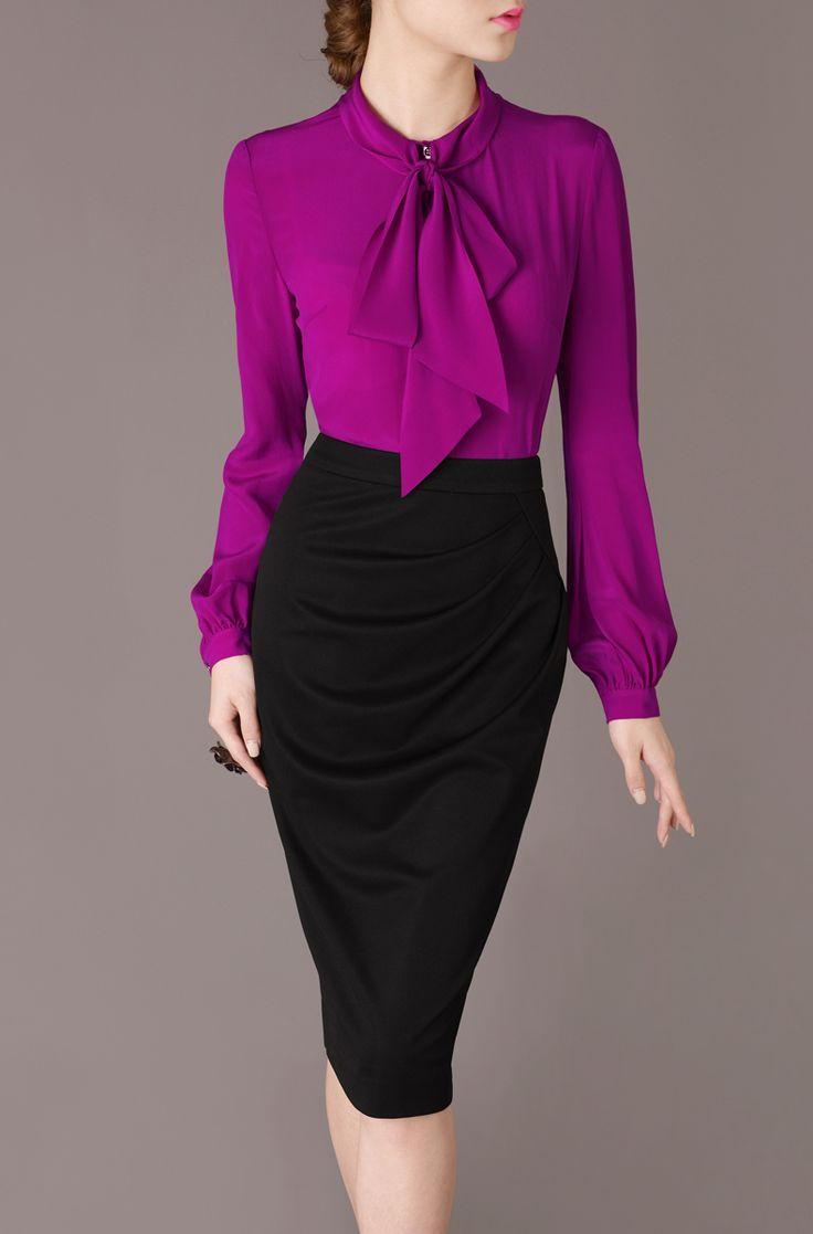 Лето женское причинно блузы элегантный винтажный отложным вниз воротник шелк…