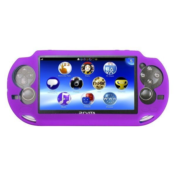 Soft Shell (Violetti) Sony PlayStation Vita Silikonisuojus