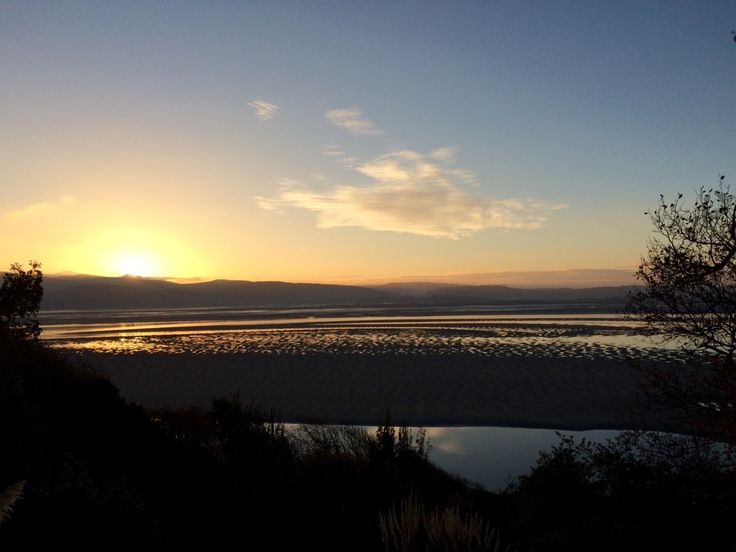 Sunrise in Aberdovey,Wales