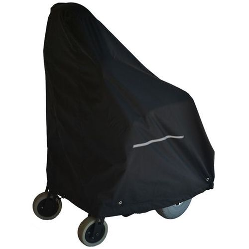 Power Wheelchair Cover, Heavy Duty Black Nylon