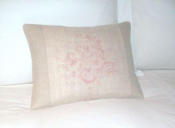 Kate Forman  Pink Sophia  UK Designer Cushion / Lumbar by maisiev, £24.00