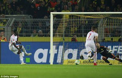 RB Leipzig yaiyadhibu Borussia Dortmund 3-2