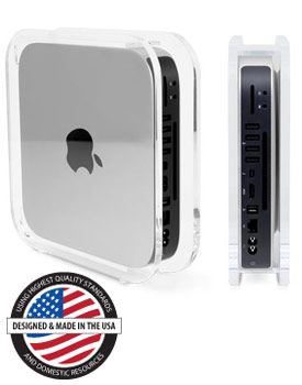 NuCube® Vertical Stand for all 2010, 2011, 2012, 2014-Current Mac mini Models