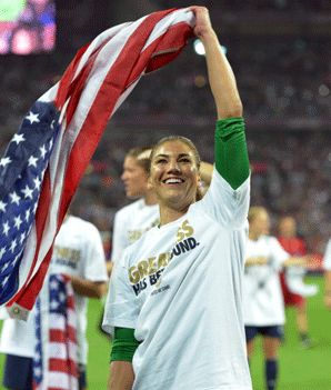 Who runs the world? Girls! Congrats to the U.S. women's soccer team for winning gold!