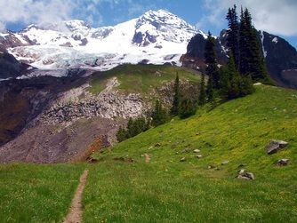 Someday I will have enough money to go on one of Adventure Running Company's trips! Like running around Mt. Rainier.