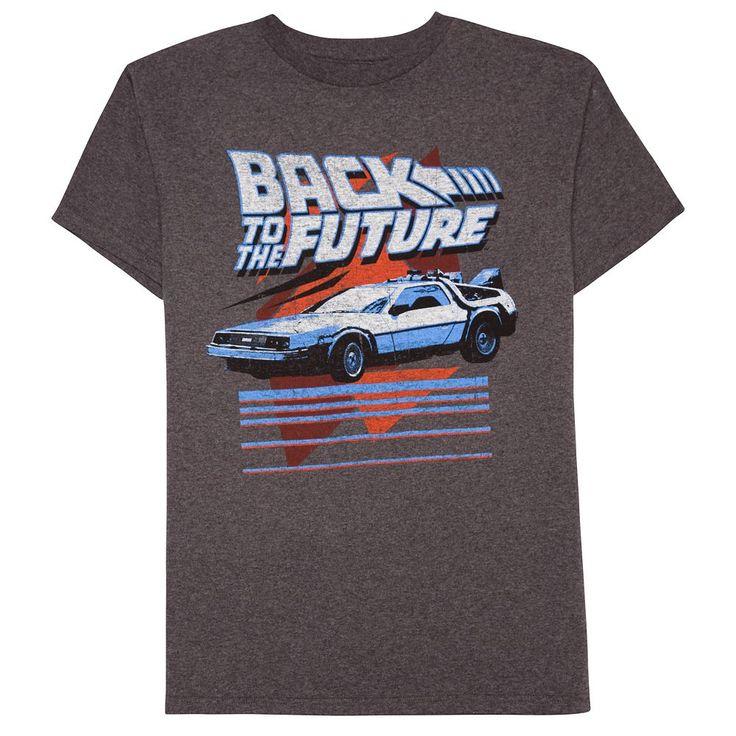 Boys 8-20 Back To The Future Tee, Size: Medium, Dark Grey