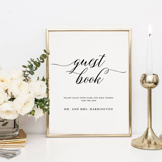 The 25+ best Wedding guestbook table ideas on Pinterest Wedding - guest book template