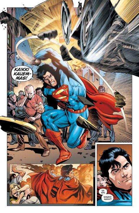 Teräsmies - Luodinkestävä. #sarjakuva #sarjis #egmont #superman