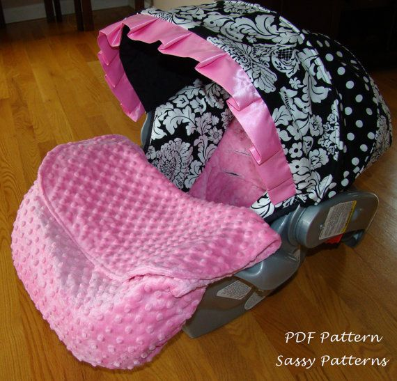 Car Seat Foot Muff Blanket Pdf Pattern Ebook Pattern Make