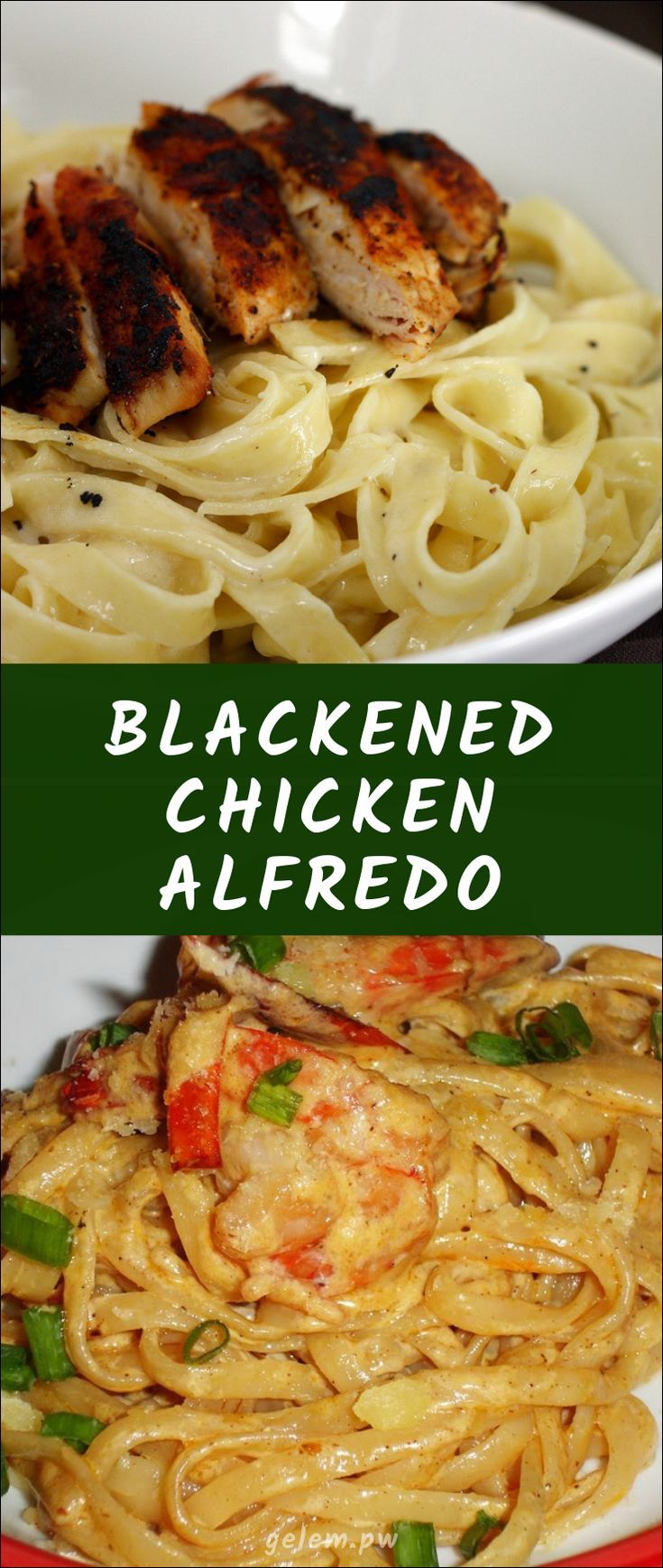 Blackened chicken alfredo blackened chicken alfredo