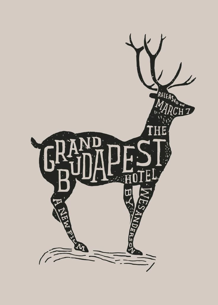 A great fan poster- The Grand Budapest Hotel #TheGrandBudapestHotel