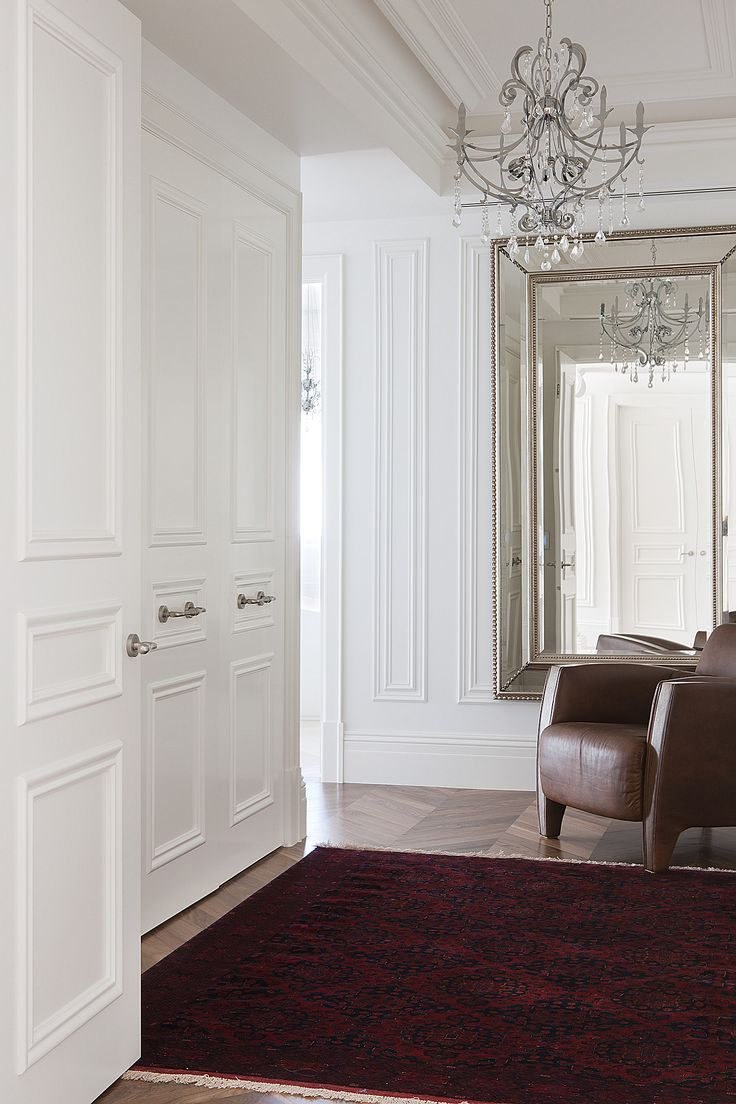 french neoclassical interior design by STUDIOMINT