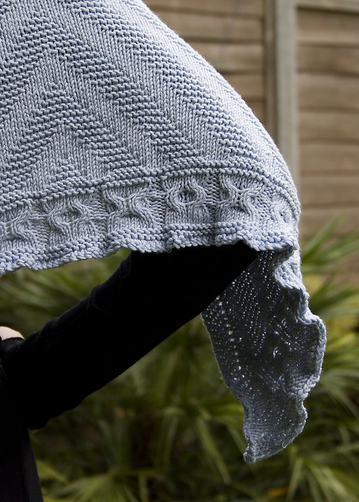 Fine Faroese Shawl Knitting Pattern Collection - Easy Scarf Knitting ...