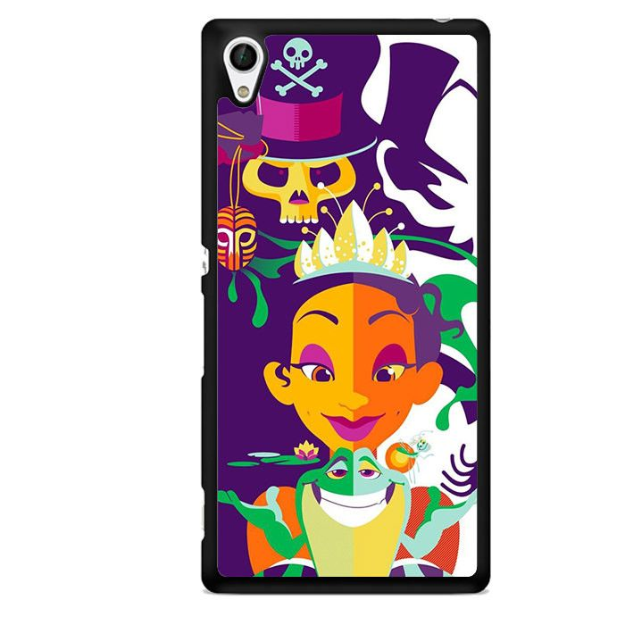 Princess Frog Retro ArtPhonecase Cover Case For Sony Xperia Z1 Xperia Z2 Xperia Z3 Xperia Z4
