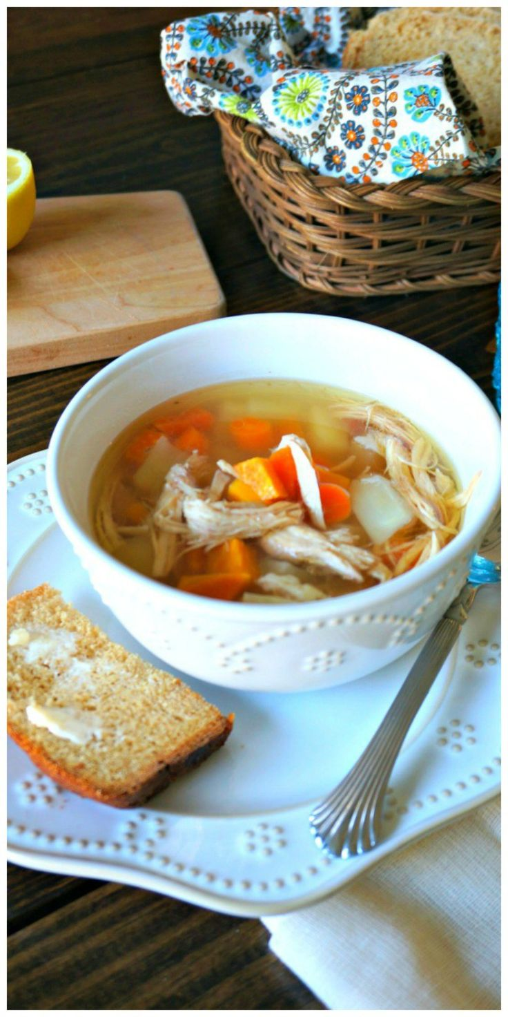 Healing Chicken Soup: A soup that packs a punch right in the face of illnesses…