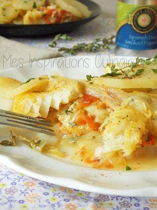 Recette de morue a la tomate et aux pommes de terre