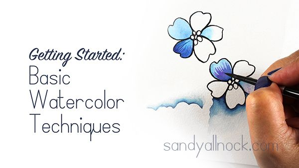 Getting Started with Watercolor | Sandy Allnock