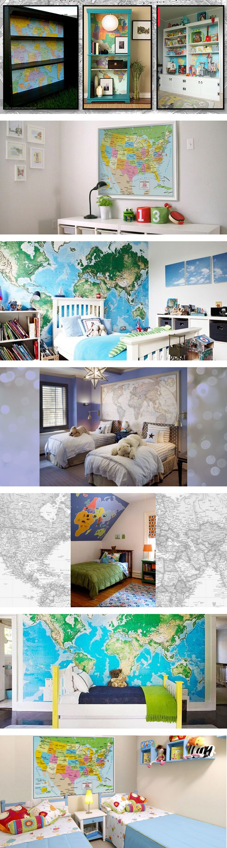 Best Decorating With Maps Images On Pinterest Wall Maps - Toys r us wall maps