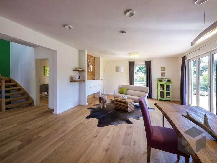 Haas fertigbau innen  En iyi 17 fikir, Haas Haus Pinterest'te | Zeltdach, Stadtvilla ve ...