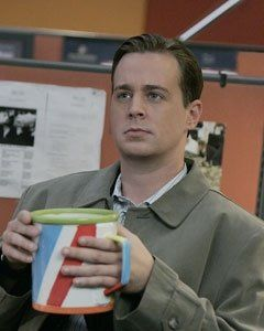 """NCIS Season 5 Episode 11 - """"Tribes"""" ~ McGee with his giant coffee mug, which Tony calls 'Seussical'!"""
