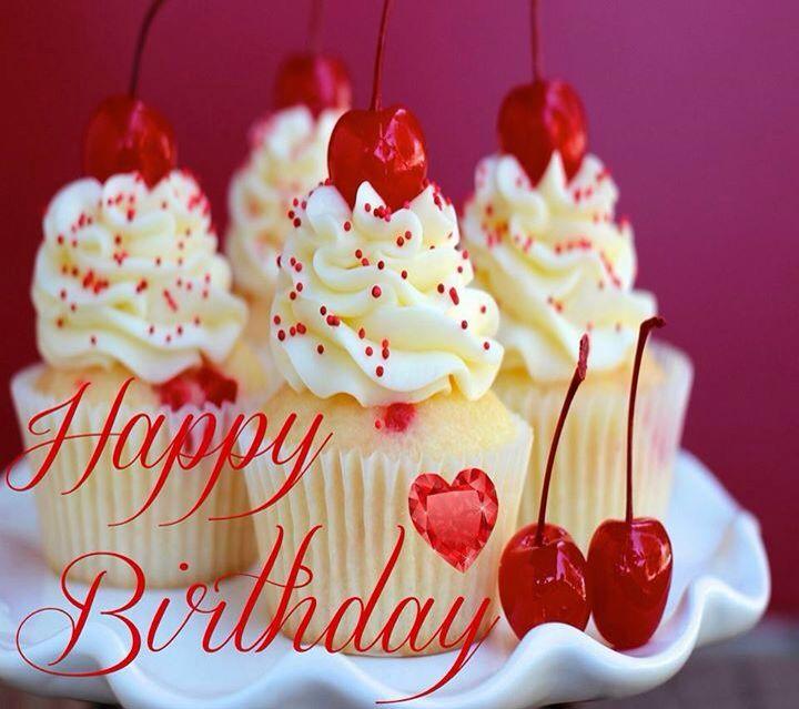 27 best greetings images on pinterest happy birthday greetings birthday cupcakes cherries on top voltagebd Images