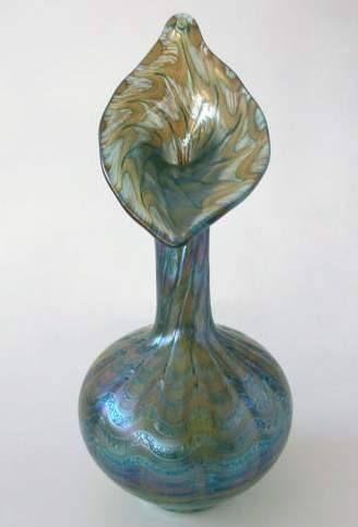 Classic Rose Rosenthal Group Germany Jugendstil in Glas 31.5 cm