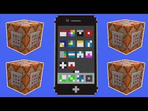 Apple iPhone in Minecraft - YouTube