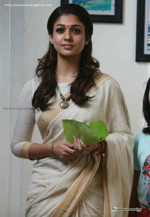 Cute nayan in saree                                                                                                                                                                                 More