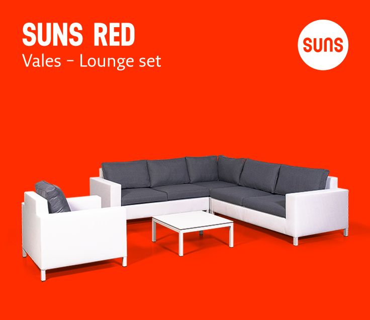 SUNS RED   Vales   Lounge Set   Outdoor Furniture   Tuinmeubelen