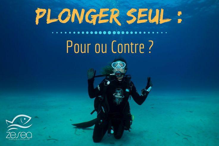 Plonger seul est une pratique bien plus commune qu'on ne le pense... Alors, quel est votre avis, pour ou contre ?