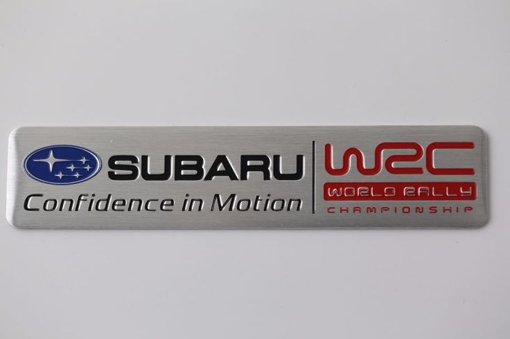 EMBLEM SUBARU WRC #emblem #subaru #WRC #WRCfans #tuning #sportcars #allemblems #subarufans #development #racing   1 PC 100% Brand new   Material: Made Of metal  Size: 12 cm/ 2.6cm  Color:  Same like in the picture  FIT: BMW LIMITED EDITION EMBLEM    1ШТ.  СДЕЛАНА ИЗМЕТАЛА  РАЗМЕР: 12/2.6СМ  ЦВЕТ ТОЖЕ САМЪЙ КАК НА КАРТИНКЕ