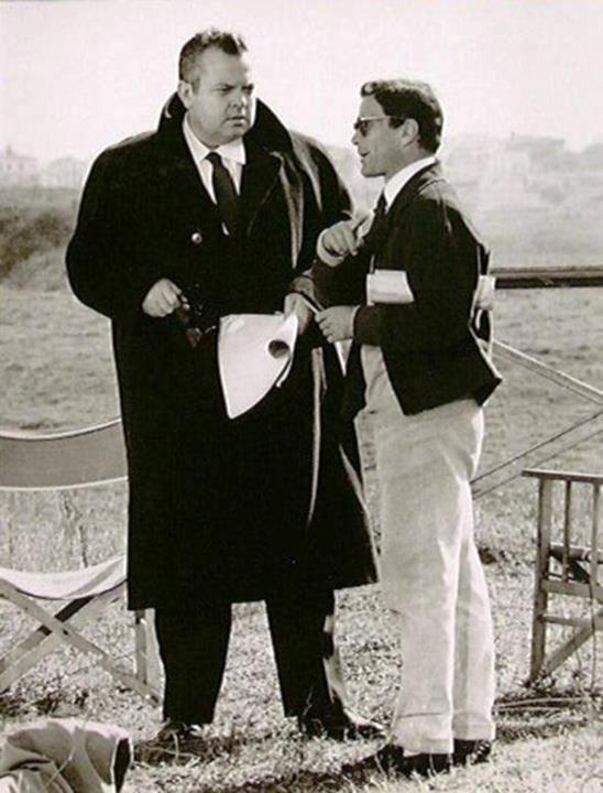 Pier Paolo Pasolini & Orson Welles